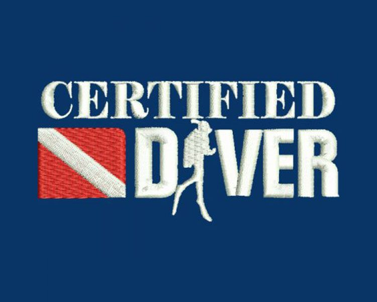 Certified Diver Logo
