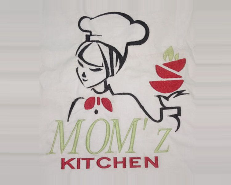 Kitchen Embroidery Design